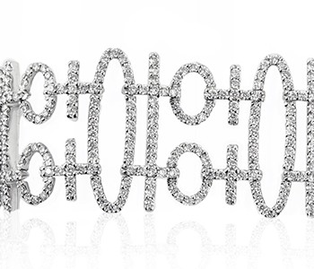 diamonds, white gold