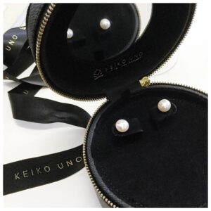 Keiko Uno Jewellery travel jewellery case